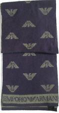 -Authentique  Echarpe EMPORIO ARMANI   50% LAINE  TBEG  vintage Scarf