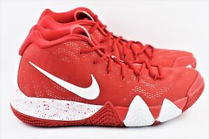 34ad635715a Nike Kyrie 4 TB Mens Size 10.5 Basketball Shoes University Red Bank ...