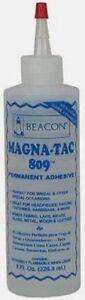 New-Magna-Tac-809-Glue-By-Beacon-Permanent-Adhesive-8-Fl-Oz-Free-Shipping