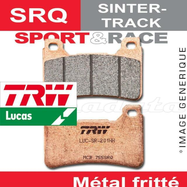 Plaquettes de frein Avant TRW Lucas MCB 683 SRQ pour Ducati 848 (H6) 08-10