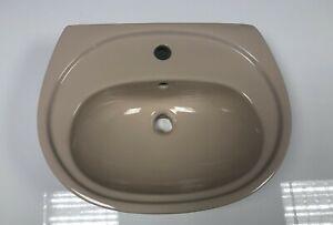 Waschtisch Bahama Beige 60 cm Waschbecken Waschplatz Handwaschbecken NEU