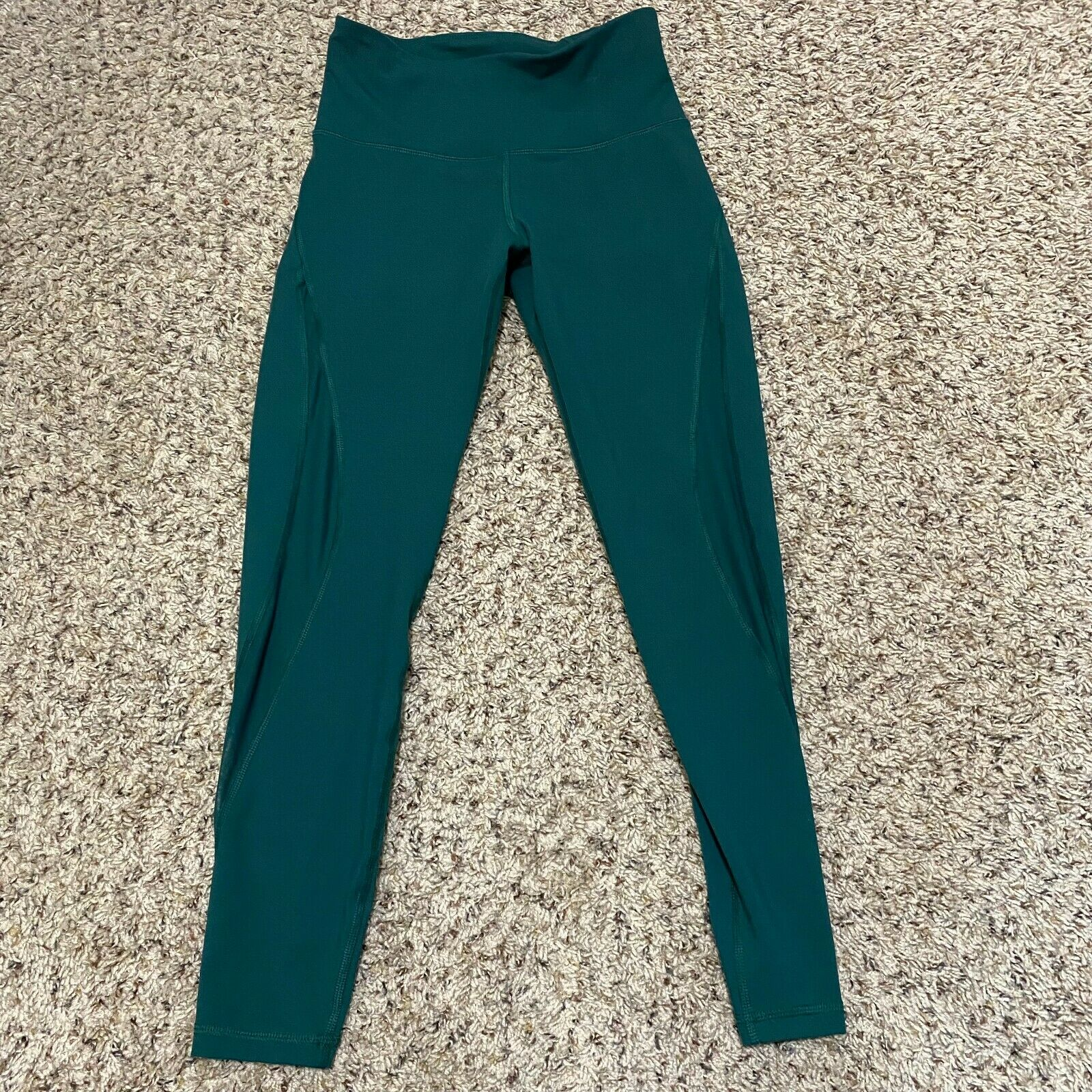 Old Navy Active Go Dry Womens Green High Waisted Yoga Leggings Size Small