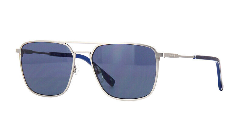 Lacoste Sunglasses L194S 035 Matte Grey Rectangle Men 57x17x140