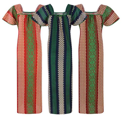 NUOVA linea donna Camicia donna cotone stampato BUM Camicia da notte 10-16