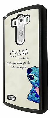 Ohana Family Meaning Quote Fun Case Cover For LG G2 G3 G4