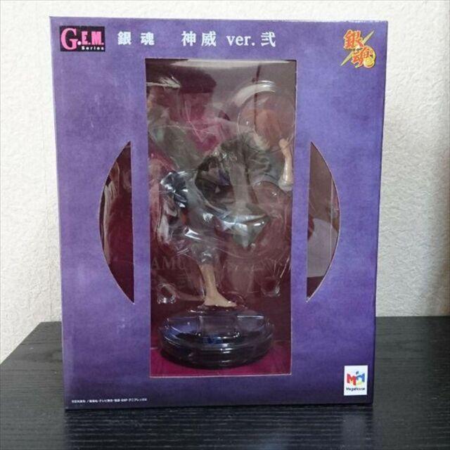 Megahouse Gintama Kamui GEM PVC Figure Kicking Version