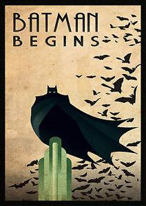 A0 A1 A2 A3 A4 Sizes Batman Dark Knight Movie Logo Giant Poster