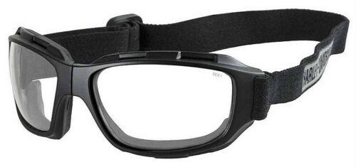 Harley-Davidson® Men/'s Bend Goggles Clear Lens Collapsible Black Frames HABEN03