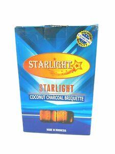 50 Tablets STARLIGHT 40 mm XL Instant Charcoal Burn Incense frankincense Hookah