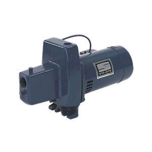 Sta rite fnd cast iron self priming shallow well jet pump for Sta rite well pump motor