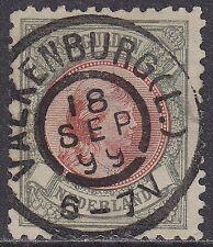 NVPH 048: 5 gld Hangend haar 1891-1894 stempel Valkenburg