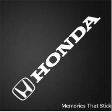 2x Honda Logo Car Vinyl Decal Sticker Civic Accord Jazz Funny Novelty