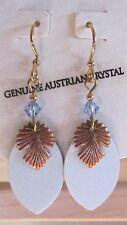 Jody Coyote Earrings JC0714 new Austrian crystal Desert Bloom QN368-01 blue 2
