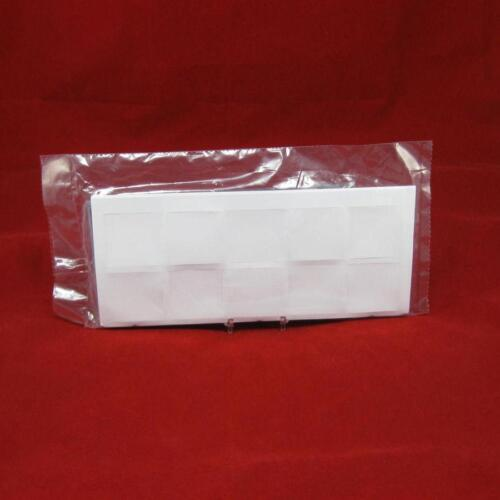 """100 2/"""" x 2/"""" Frame A Coin #28 Double Pocket Vinyl Coin Flips with Paper Inserts"""