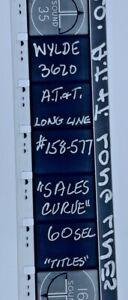Advertising 16mm Film Reel - AT&T 1958 Sales Curve 60 Sec #158-577 60 Sec (AT02)