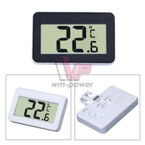 TS-A95 High Accuracy Digital LCD Thermometer Waterproof Temperature Meter W/&B