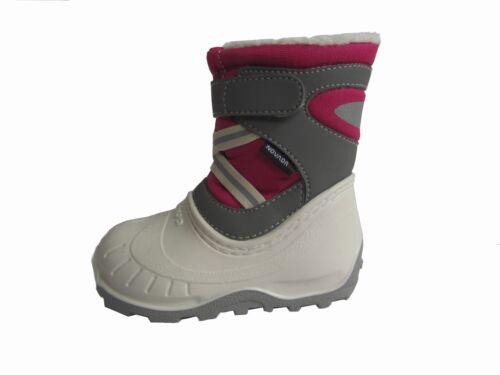 Quechua Winterstiefel Tricolore 20 21 22 23 pink wasserdicht Stiefel Mädchen NEU