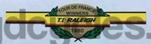 Raleigh Tour de France Winners 1980 decal
