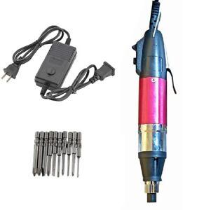 10pcs Electric Screwdriver Bit Set Stepless Speed Power Repair Tool AC 110V-220V