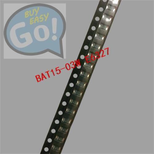 50PCS BAT15-03W SIEMENS Encapsulation:SOD-323,RF Mixer+Detector Schottky NEW