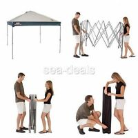 Coleman Instant Canopy 10x10 Outdoor Folding Tent Shade Gazebo Pop Up Shelter