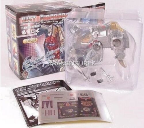 WST WORLDS SMALLEST DINOBOTS SLAG TRANSFORMERS by JUSTITOYS MISB