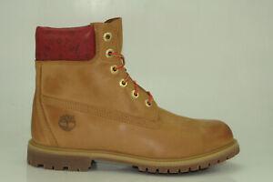 Timberland-6-Inch-Premium-Boots-Waterproof-Stiefel-Damen-Schnuerschuhe-A243Q