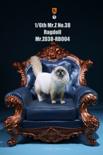 1//6 Puppet Cat Mr.Z No.38 Ragdoll Simulation Animal 38th Bomb Collectible Toy