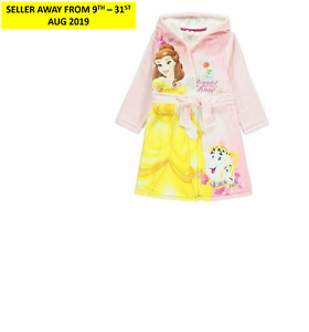 Disney/'s Beauty /& the Beast Belle Dressing Gown Robe /'As beautiful as a rose/'