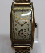 Vintage 1937 Bulova 17J 7AP 43mm Long GF Case Manual Wind Men's Watch LOT#1114