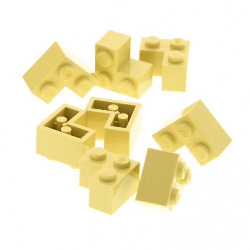 8x Lego Bau Stein beige tan 2x2 Winkel Ecke 10253 4504 6210 4124455 2357