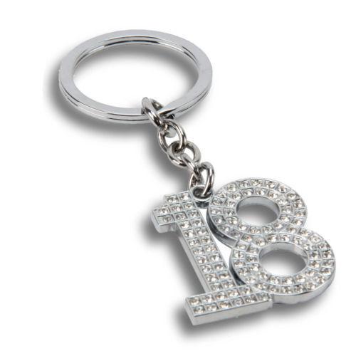 Juliana Crystal porte-clés 18ème Anniversaire Cadeau sp63318