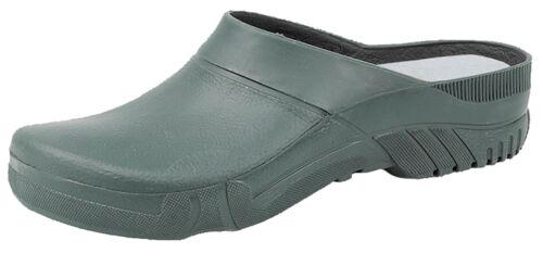Unisex Garden Clogs Green Slip-On Gardening Shoes Mules Size 3-11