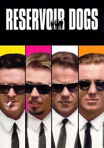 RESERVOIR DOGS Movie PHOTO Print POSTER Textless Film Art Quentin Tarantino 002