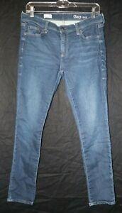 Gap-1969-Women-039-s-Junior-Blue-Girlfriend-Skinny-Jeans-Size-27R