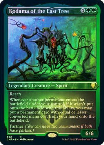 Kodama of the East Tree MTG Foil Etched NM Commander Legends