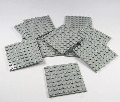 8 x LEGO® PLATTE 2 x 6 NOPPEN PLATTE 3795 FLACH JE 2 MEDIUM AZUR GELB PURPLE NEU