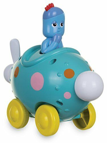 In the Night Garden NEW Iggle Piggle Pinky Ponk Press Go Vehicle Toy