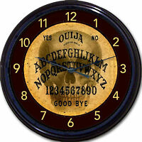 Ouija Board Skeleton Skull Wall Clock Paranormal Spirit Seance Occult Wicca 10