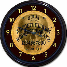 Ouija Board Skeleton Skull Wall Clock Paranormal Spirit Seance Occult Wicca 10""