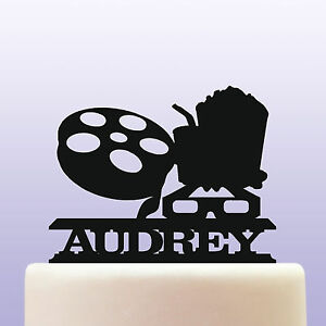 Astounding Personalised Acrylic Cinema Movie Cinematographic Film Birthday Funny Birthday Cards Online Kookostrdamsfinfo
