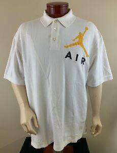 NIKE-AIR-JORDAN-Men-039-s-Big-Jumpman-Logo-Polo-Shirt-Size-2XL