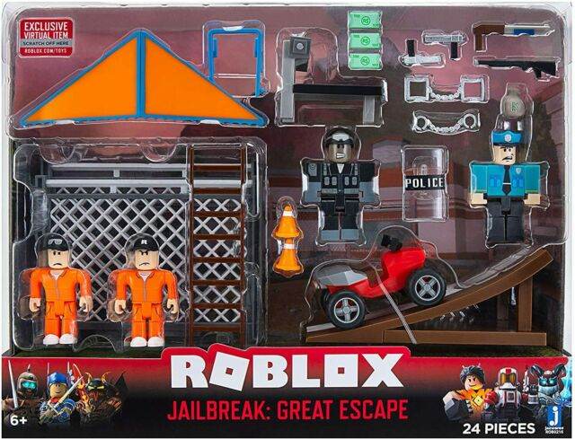 Roblox Environmental Playset - Jailbreak: Great Escape BRAND NEW