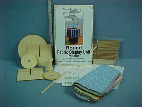Dragonfly Internati Maple Miniature Fabric Display Unit Kit FS204M Round