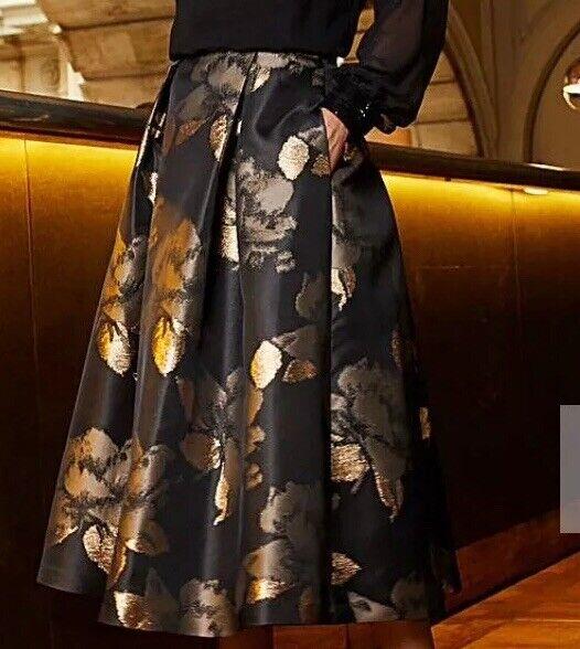 JOANNA HOPE JACQUARD PROM SKIRT Size 24 RRP .00 Box E147