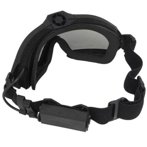 Schutzbrille Antibeschlagbrille UV-Taktikbrille zum Radfahren Fahren Wandern Jag
