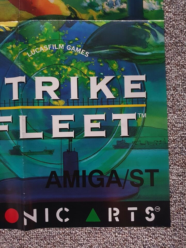 Andet, Anden konsol, Strike Fleet plakat fra Electronic