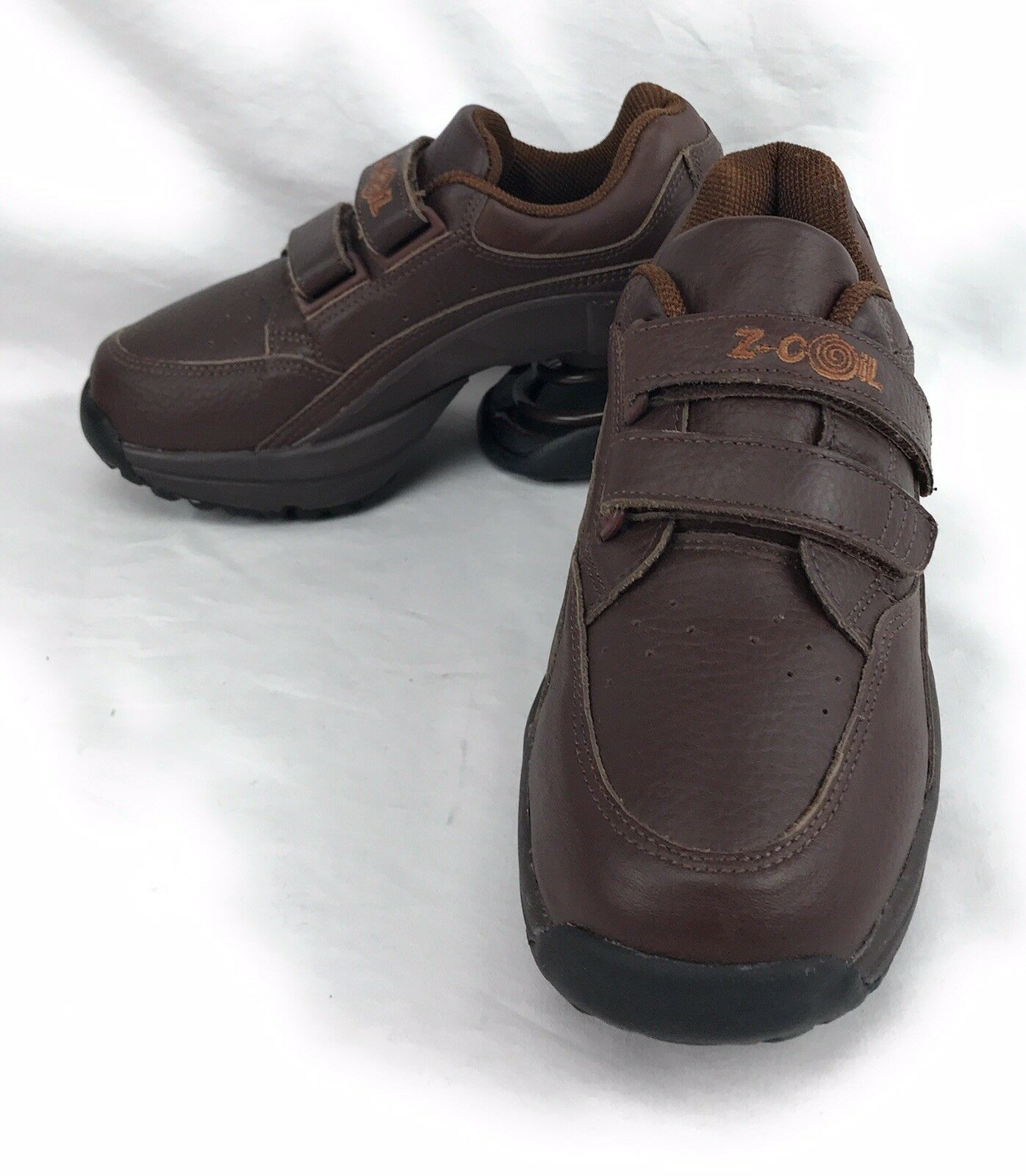 Z Coil Cloud Cloud Cloud Walker W6  Hook Loop Brown Leather shoes EU 36.5 UK 3.5 CM 23 9fdf40