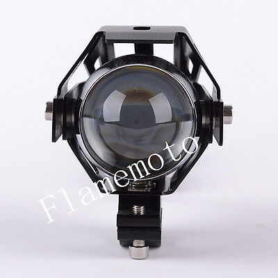 WATERPROOF BLACK U5 CREE LED MOTORCYCLE HEADLIGHT FOG lAMP SPOTLIGHT FOR SUZUKI