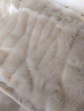 New Pottery Barn Faux Fur Decorative Throw Pillow Cover 26 X 26 Fox Euro